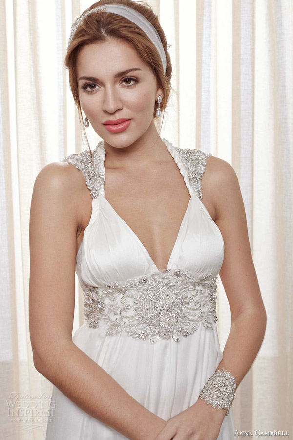 anna campbell 2013 2014 belle ivoire pearl ivory wedding dress