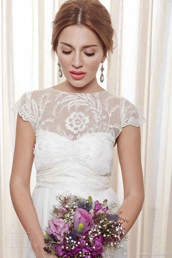 Anna campbell wedding dresses belle ivoire bridal for Anna campbell wedding dress used