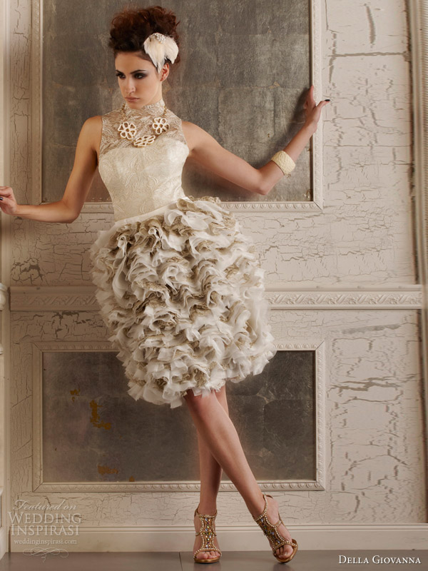 Pictures Of Short Wedding Dresses 75 Spectacular della giovanna fall edgy