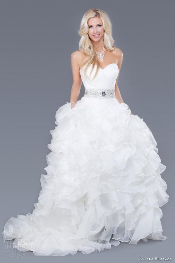 Custom Made Wedding Gowns 81 Amazing escala berazza custom made