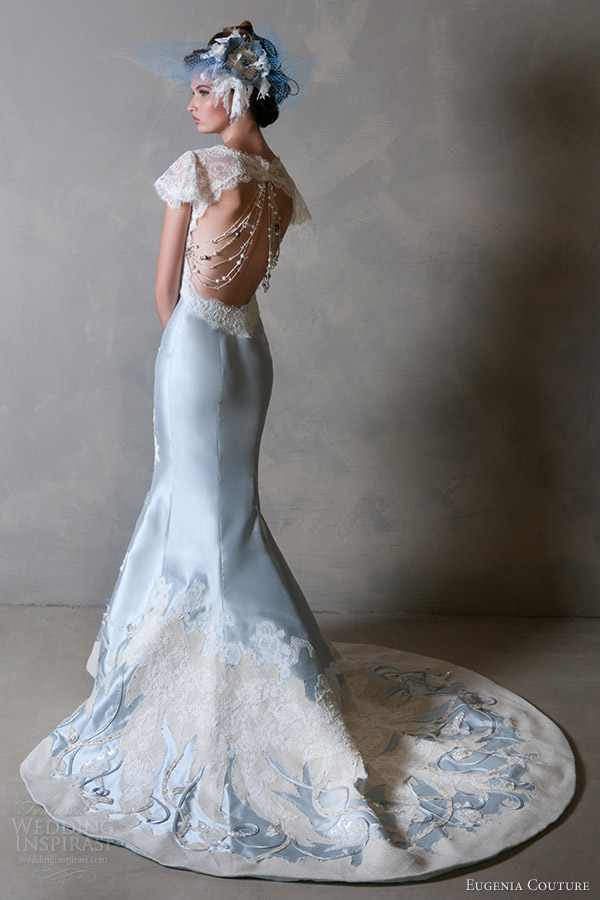 Blue Wedding Gowns 2014