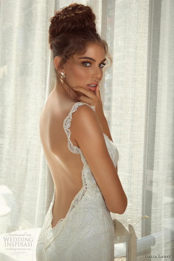 galia lahav wedding dresses 2014 juno gown close up back view