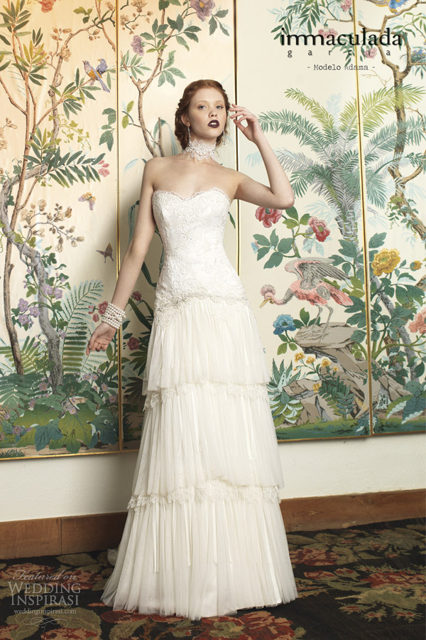 inmaculada garcia 2014 adama wedding dress
