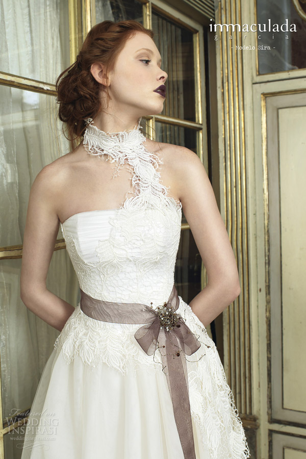 inmaculada garcia wedding dresses 2014 sira gown