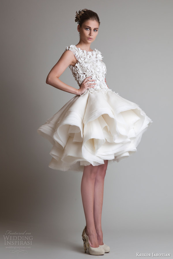 Krikor Jabotian Fall 2013 Couture Closure Collection