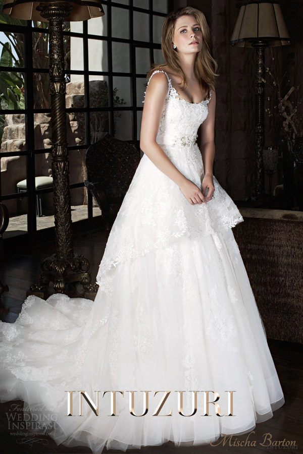 mischa barton wedding dress intuzuri 2014