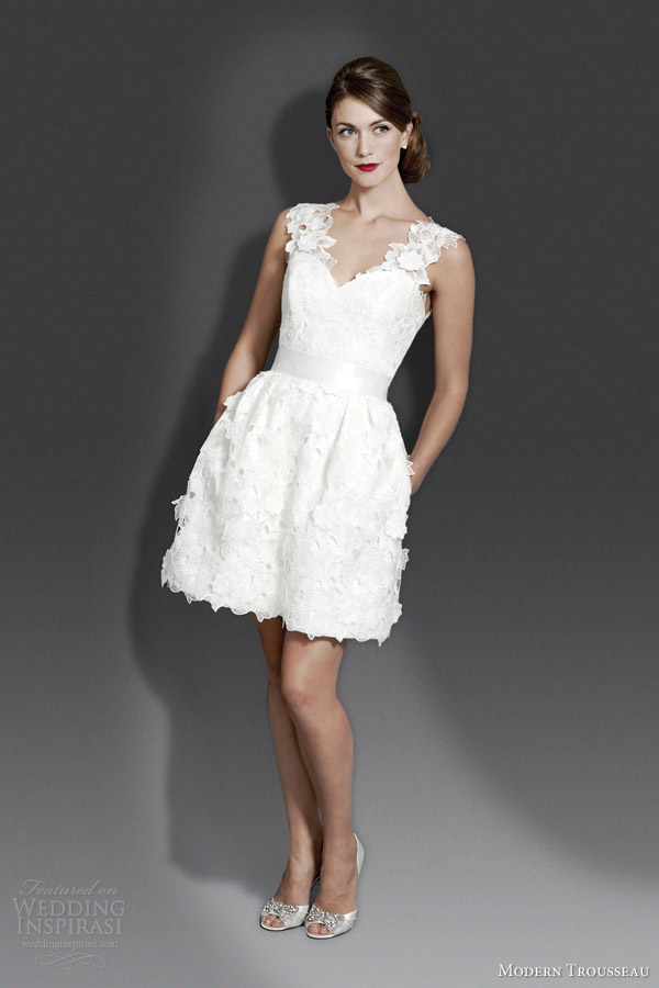 Short Modern Wedding Dresses - Amore Wedding Dresses