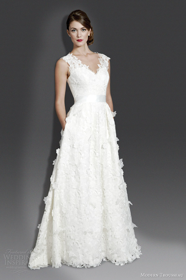 modern wedding dress 2014