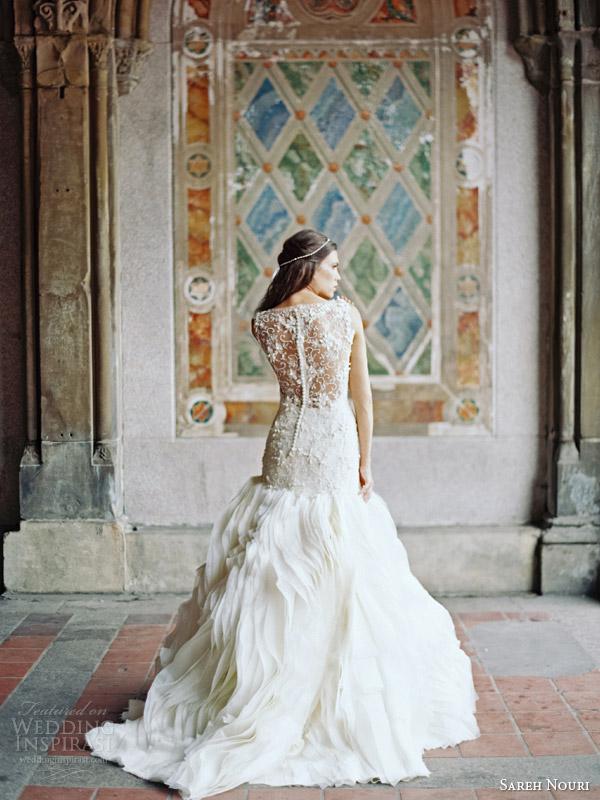 sareh nouri bridal fall 2014 field of love wedding dress back