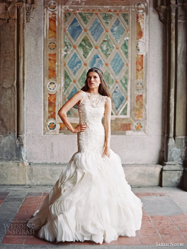 sareh nouri bridal fall 2014 field of love wedding dress