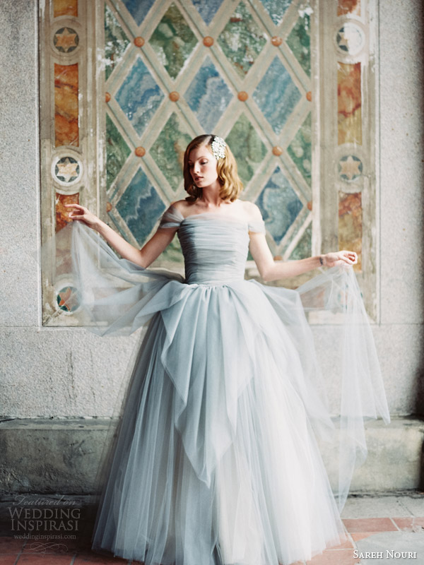 sareh nouri bridal fall 2014 marie antoinette wedding dress