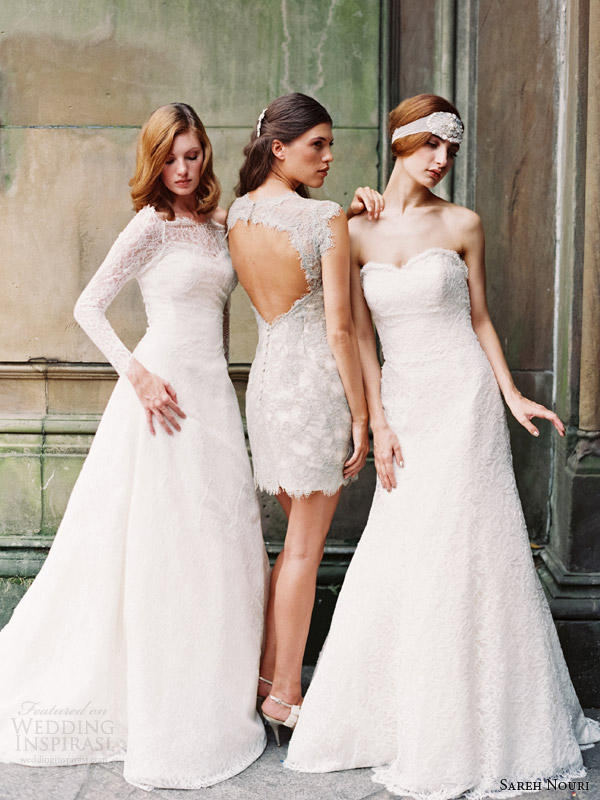sareh nouri fall 2014 bridal josephine liza allie wedding dresses