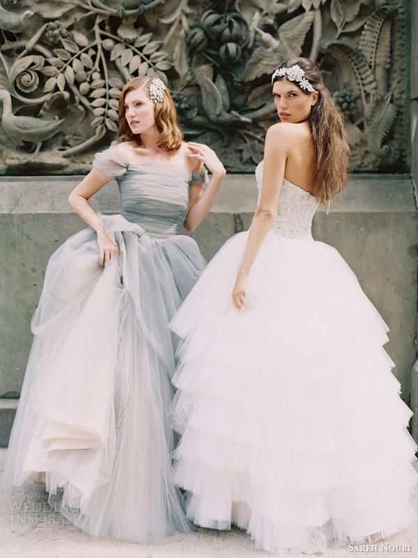 sareh nouri fall 2014 bridal marie antoinette lily wedding dresses