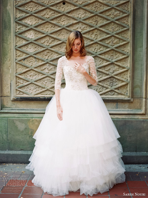 sareh nouri ziba wedding dress fall 2014