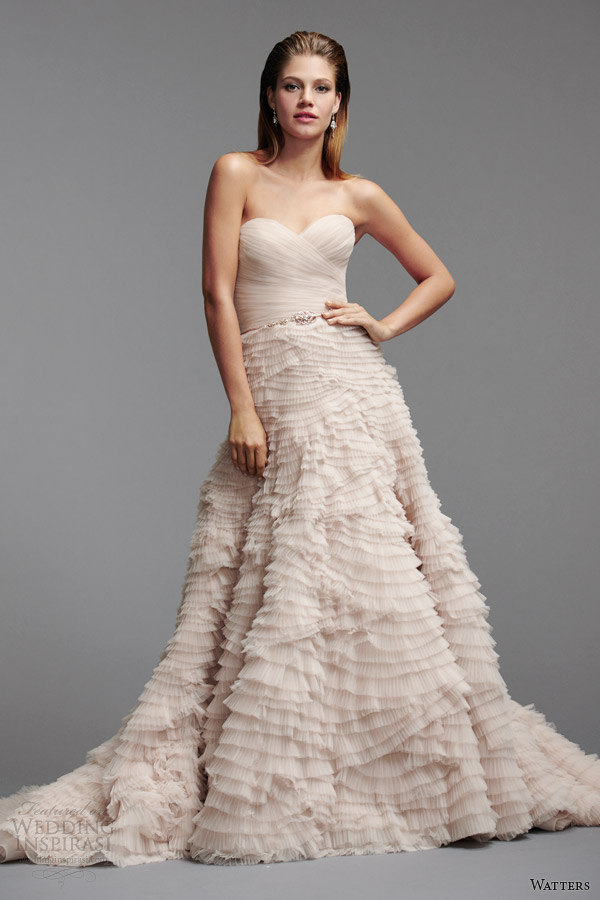 Wedding Dresses By Watters 79 Fabulous watters brides color wedding