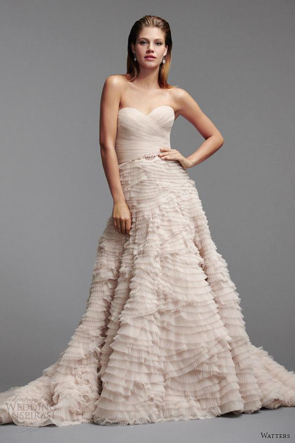 Oatmeal Colored Wedding Dress