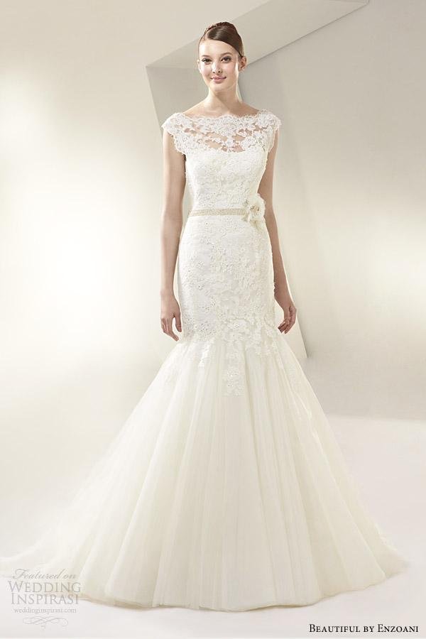 beautiful by enzoani 2014 cap sleeve wedding dress style bt14 13