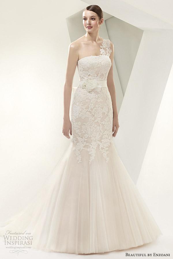 beautiful by enzoani 2014 one shoulder wedding dress style bt14 14