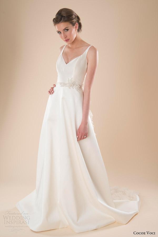 Twilight Style Wedding Dress 42 New cocoe voci bridal spring