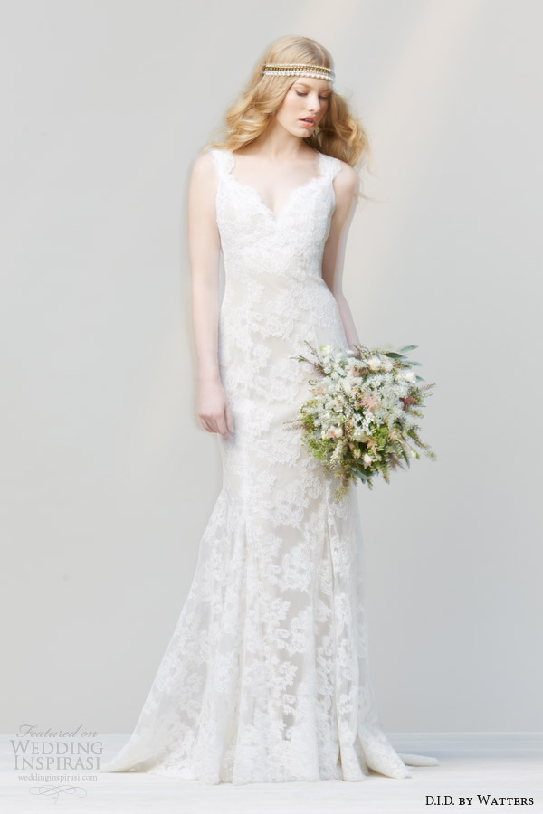 D i d by watters spring 2014 wedding dresses wedding for Ivory champagne wedding dress
