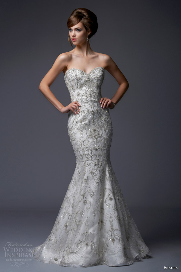 Enaura Bridal Fall 2013 Wedding Dresses | Wedding Inspirasi