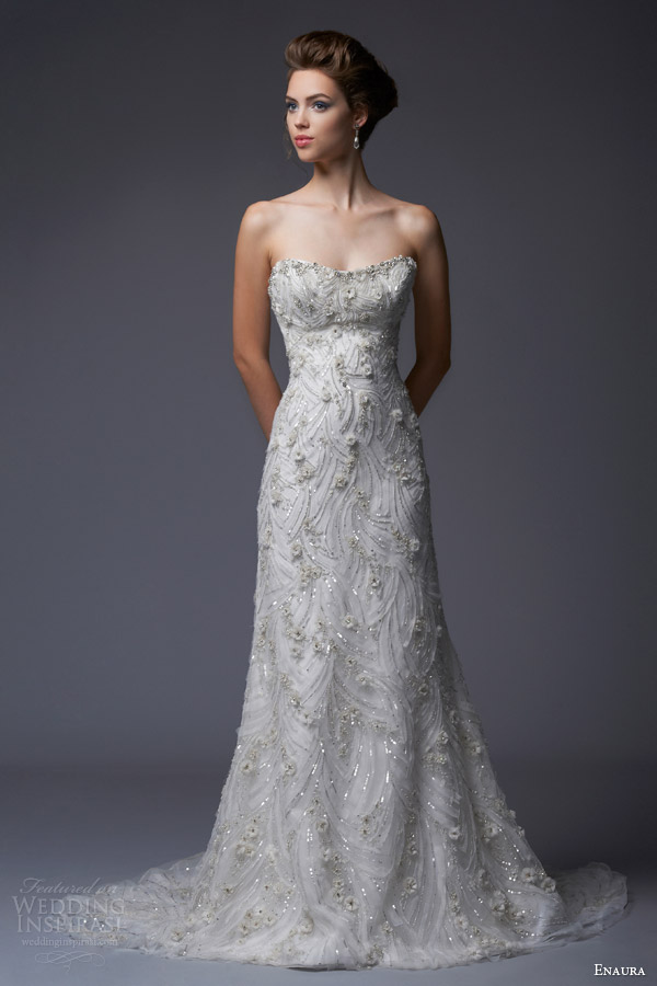 Enaura bridal fall 2013 wedding dresses wedding for Winter style wedding dresses