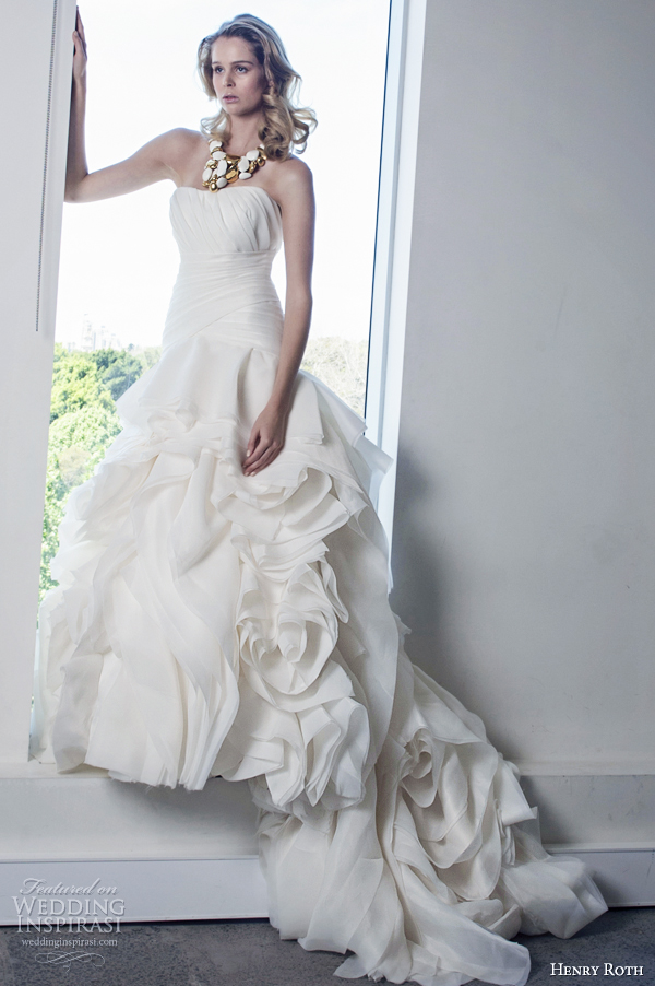 Henry Roth 2017 Wedding Dress Sigalit