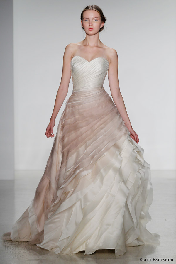 Wedding Dresses For Fall 2014 kelly faetanini bridal fall