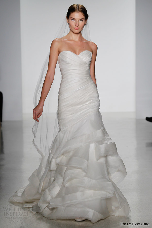 Fall Wedding Gowns : Kelly faetanini fall wedding dresses inspirasi