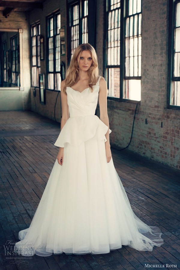 Michelle Roth 2017 Wedding Dresses