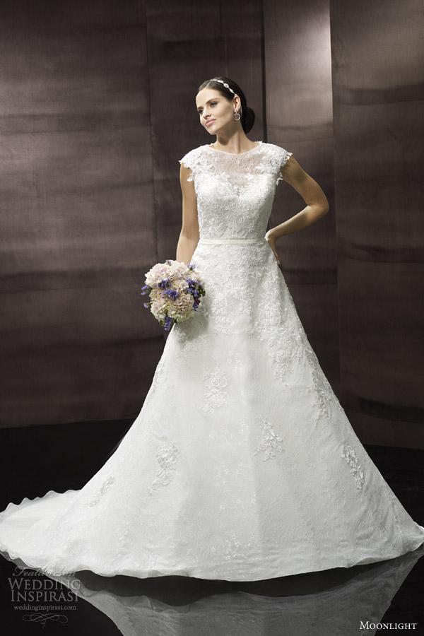 Moonlight Collection Spring 2014 Wedding Dresses Wedding