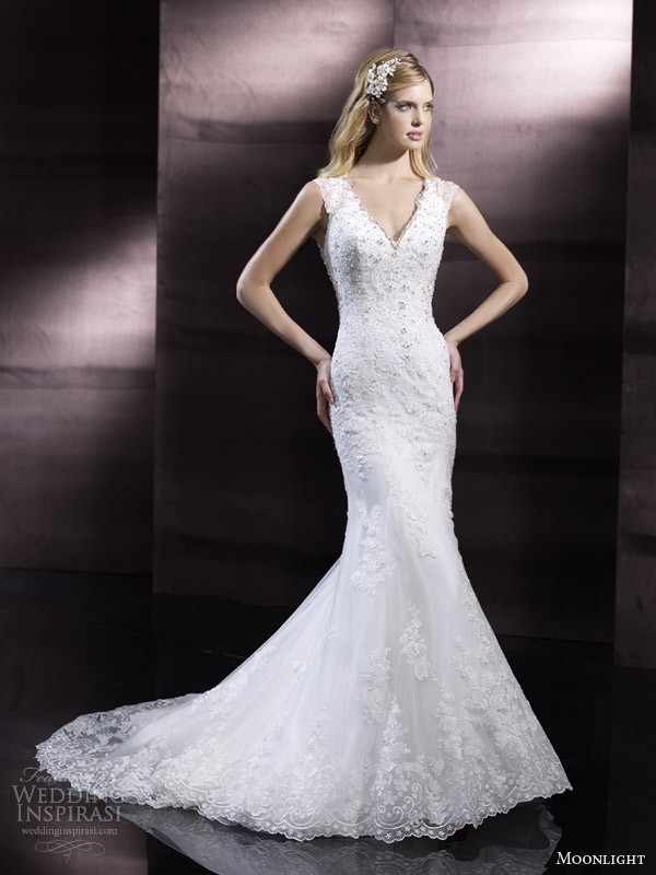 moonlight bridal couture spring 2014 wedding dress style h1245