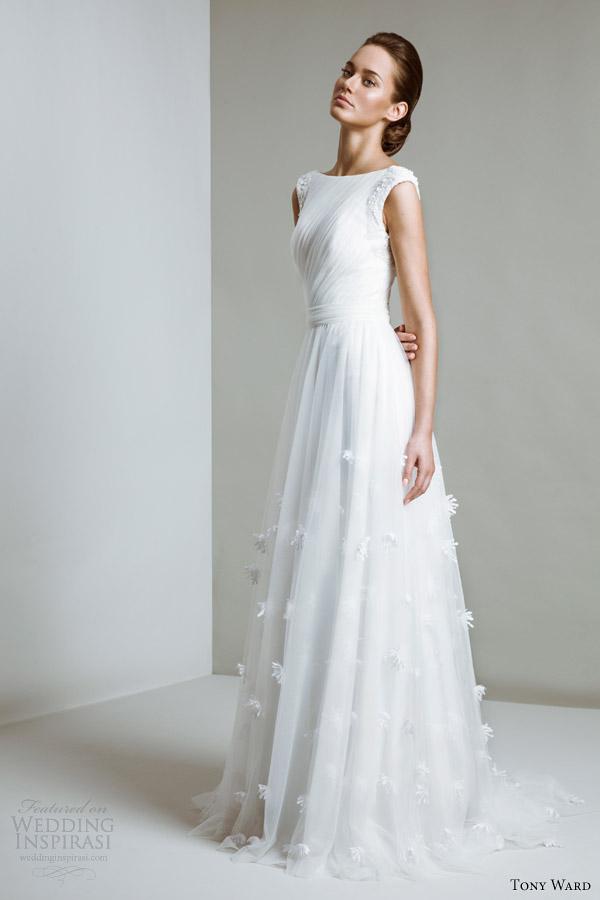 tony ward 2014 bridal angela wedding dress