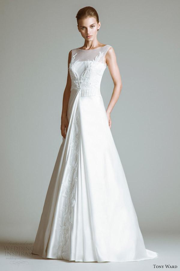 vestidos de casamento da ala tony 2014 vestido diane ilusão decote