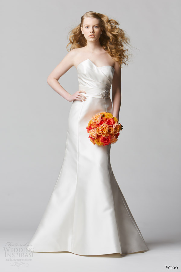 wtoo wedding dresses spring 2014 strapless gown style 12815 avenza