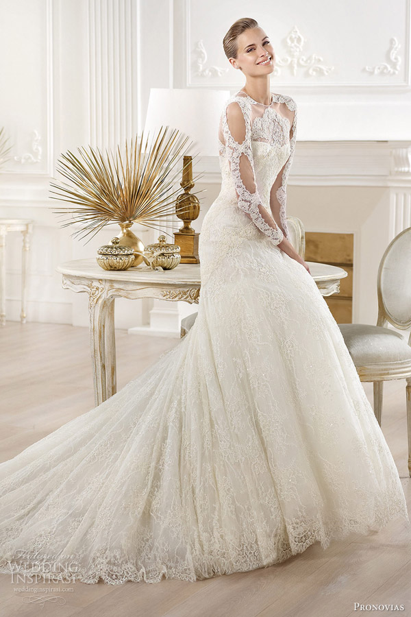 Atelier Pronovias 2014 yana wedding dress