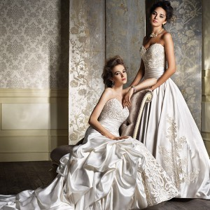 alfred angelo 2014 wedding dresses gold ivory 882 886