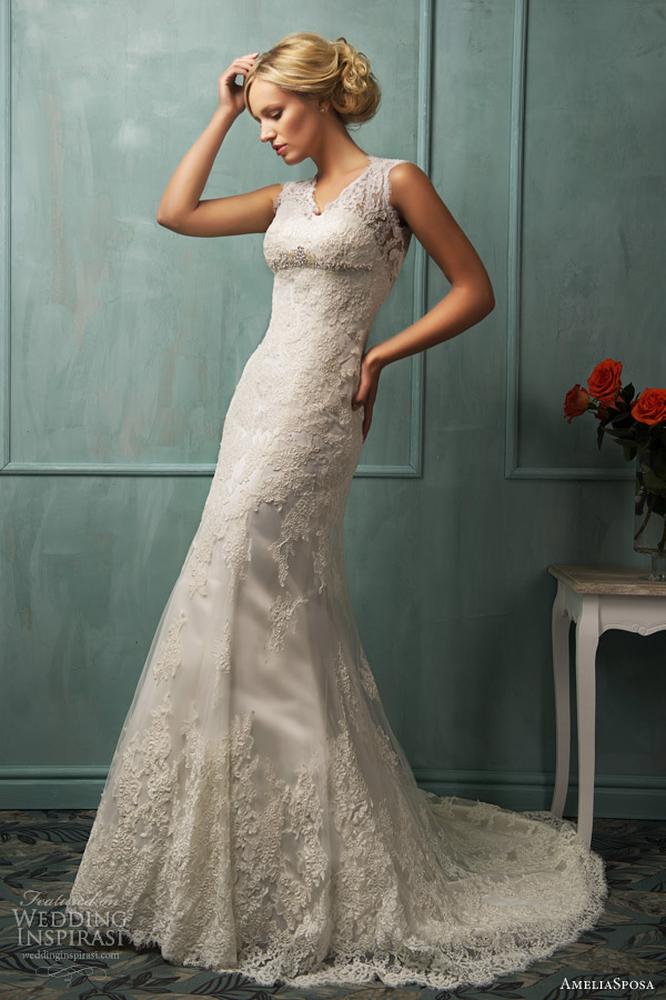 amelia sposa bridal 2014 loretta wedding dress