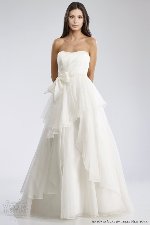 Wedding Dress Gemach New York : Plain wedding dress new york especially luxurious design