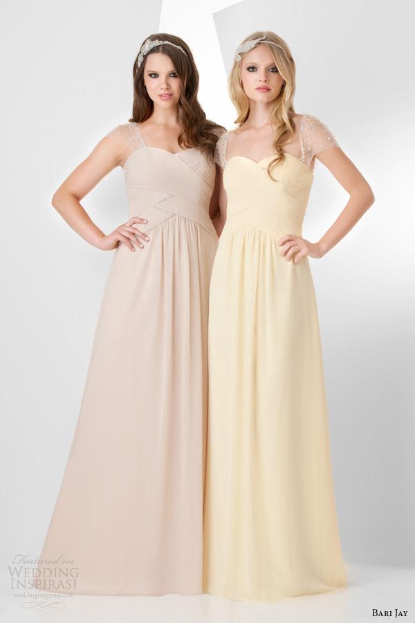 Beige Wedding Gown 53 Amazing bari jay bridal bridesmaids