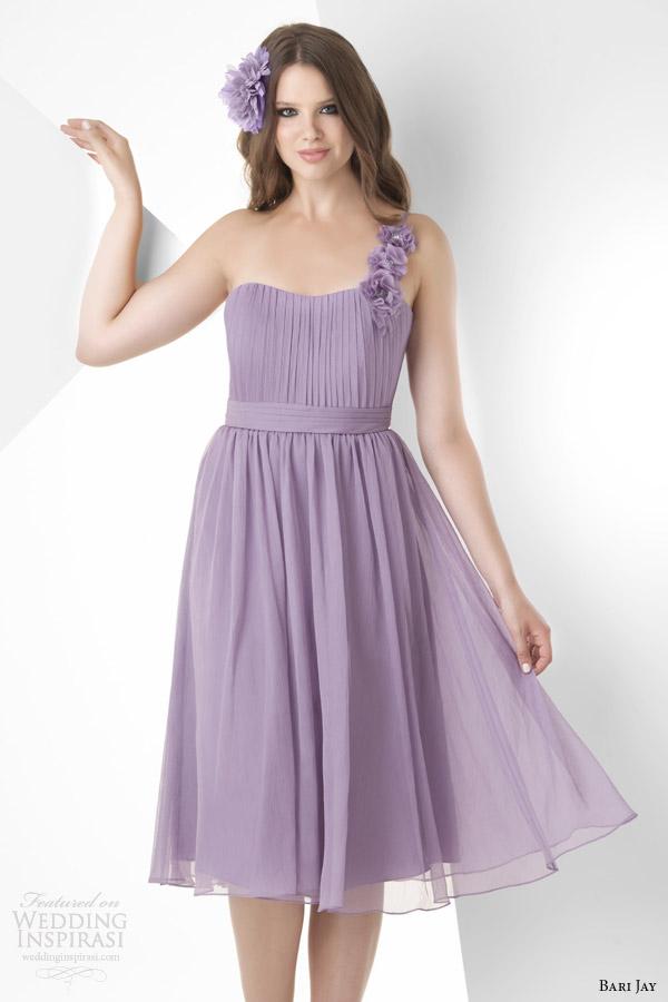 Short Purple Wedding Dress 21 Good bari jay spring short