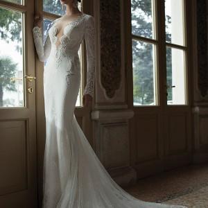 berta bridal 2014 wedding dress long sleeves