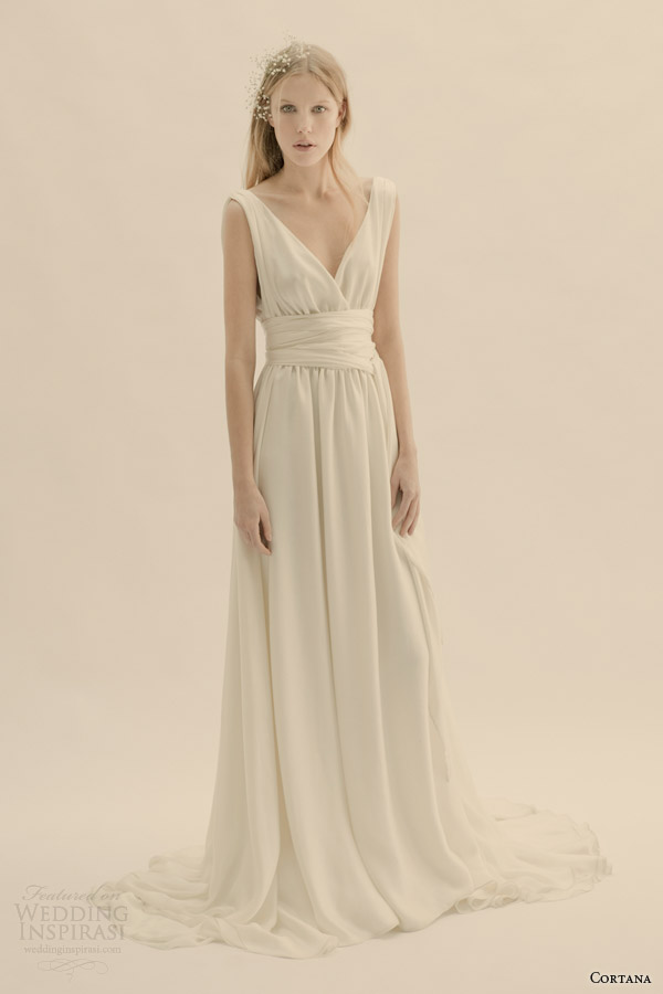cortana bridal esperanza sleeveless wedding dress