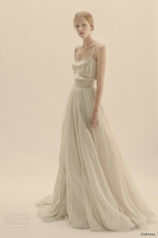 cortana bridal separates julio top tutu skirt