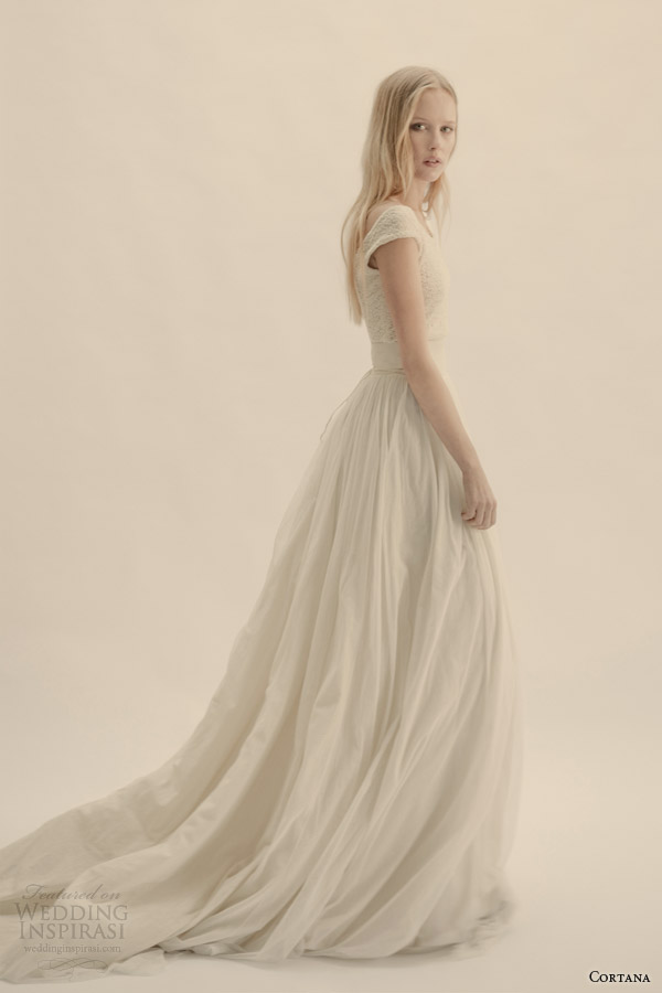 Cortana wedding dresses wedding inspirasi for Wedding dress skirt and top