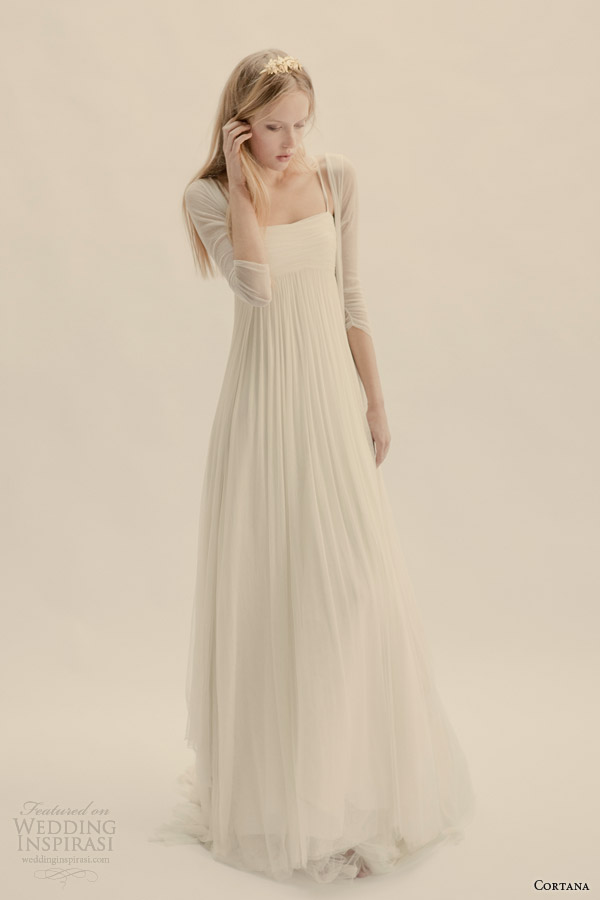 cortana wedding dresses gemma gown volare coat