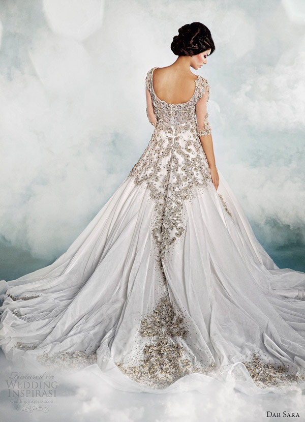 dar sara dubai wedding dresses 2014