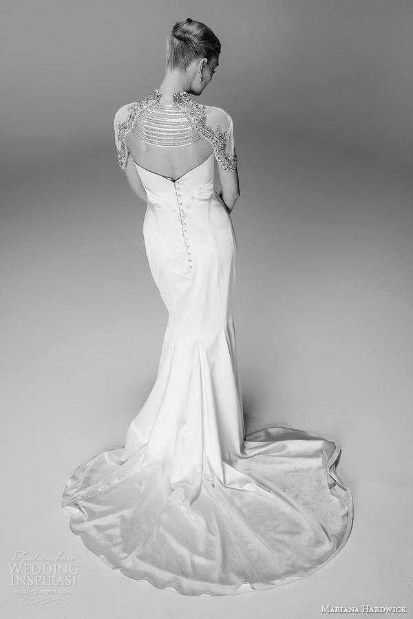 mariana hardwick bridal natasha wedding dress femme fatale bolero back view