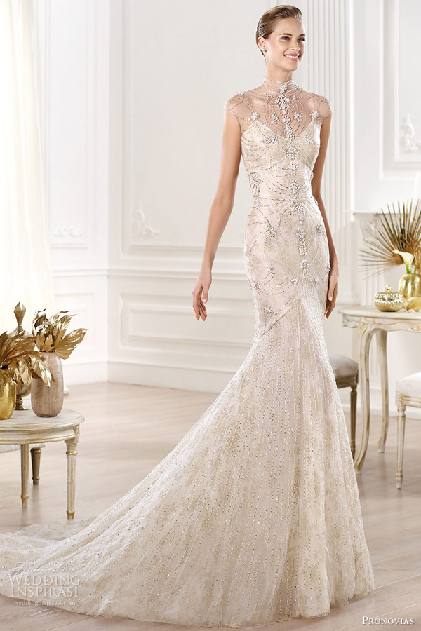 pronovias 2014 yalim wedding dress