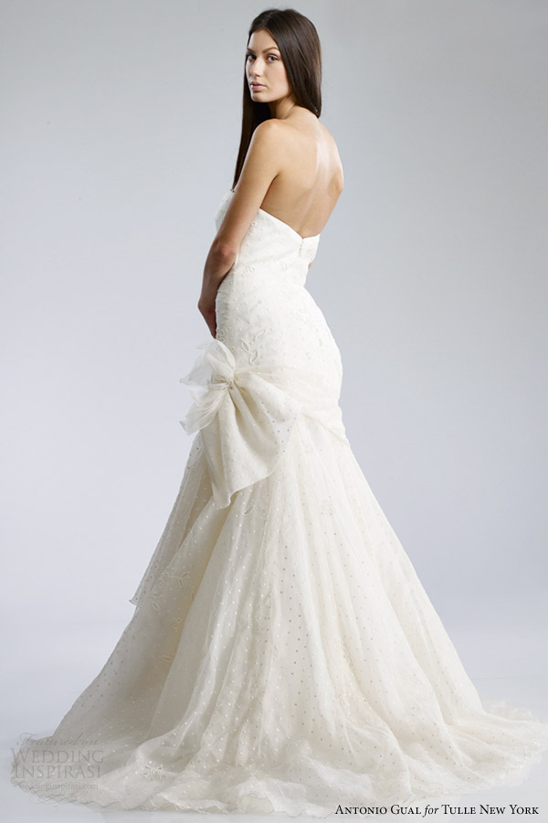 Wedding Dresses For   New York : New york for details please visit antonio gual tulle